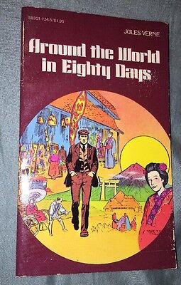Around The World In 80 Days by Jules Verne - Graphic Novel PB, (Around The World In 80 Days Graphic Novel)