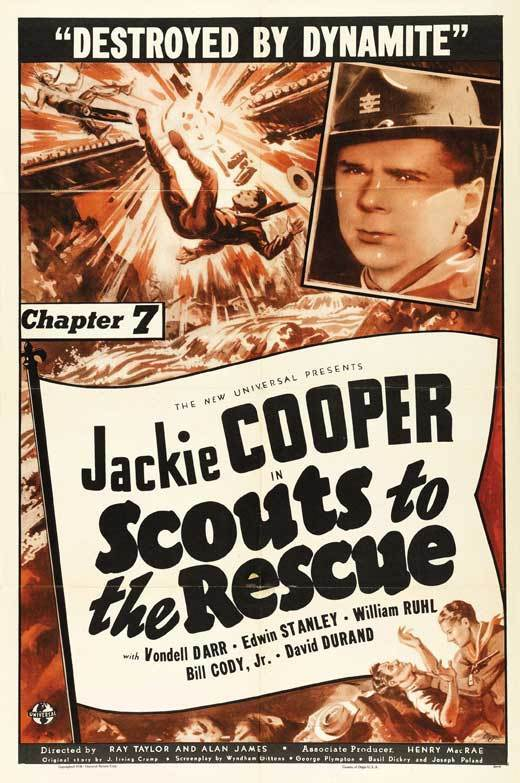 SCOUTS TO THE RESCUE Movie POSTER 27x40 C
