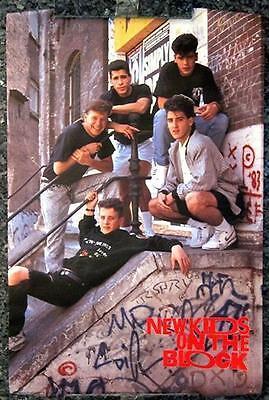 New Kids on the Block # 11- 8 x 10 Tee Shirt Iron On Transfer railing