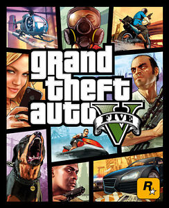 GTA 5 XBOX ONE Brand New Factory Sealed