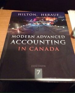 Modern Advanced Accounting In Canada 7th Edition
