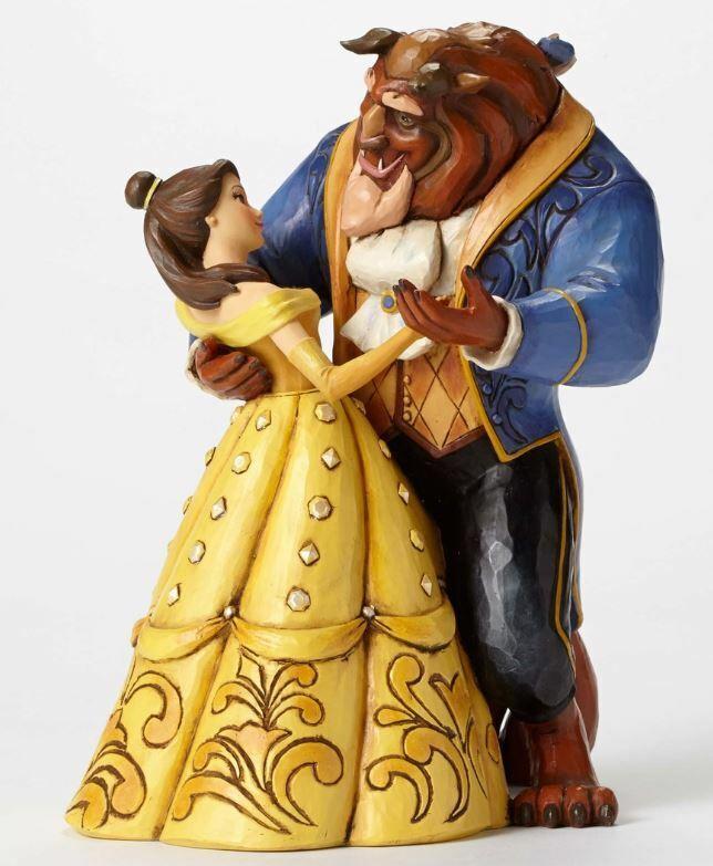 Jim Shore Disney Moonlight Waltz Beauty and the Beast Figurine 4049619 Belle New