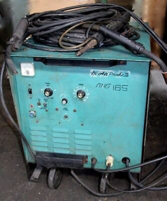 Mig-tig-spot-stick Welder With 3 Guns Single Phase Air Products Mig-185