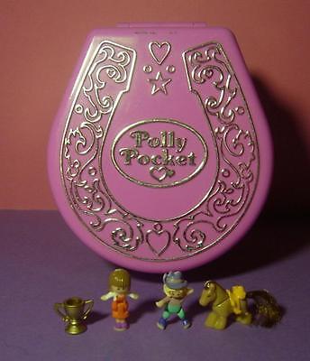 Polly Pocket Mini ♥ Hufeisen ♥ Pony Ridin' Show ♥ 1994 ♥ 100% Komplett ♥ Sound
