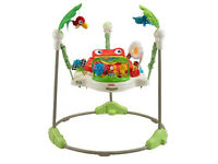 Fisher Price Rainforest Jumperoo Swings Bouncers Baby Child Toys Activities