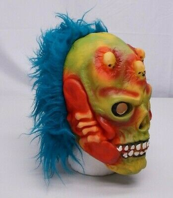 Unbranded Adult One SIze Latex Zombie Demon Skull Scary Halloween Mask  (Demon Skull Mask)