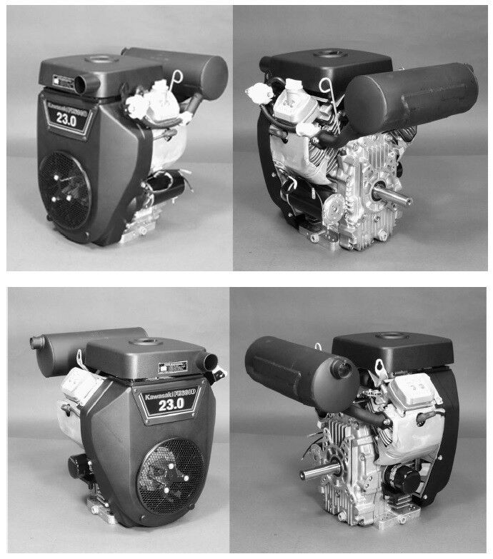 23 25 HP FH680D FH721D Kawasaki Engine Motor Service Manual