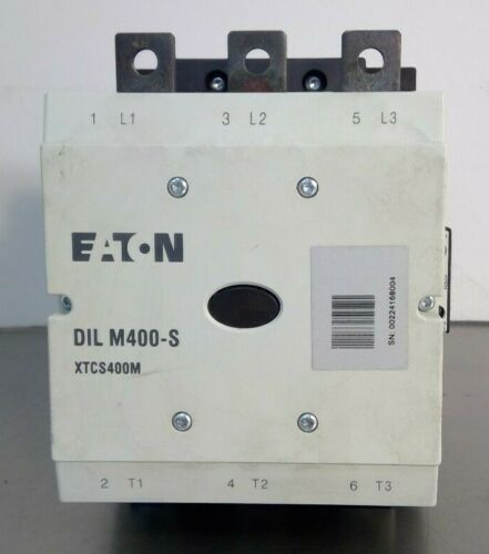 Eaton - DIL M400-S XTCS400M - Contactor 110-120V                              4E