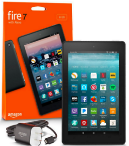 Amazon Fire 7  8GB, Wi-Fi, 7In - Black