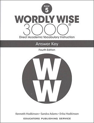 4TH EDITION  Wordly Wise 3000 Grade 5 Key