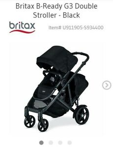 Brand new 2018 double Britax b ready g3 stroller