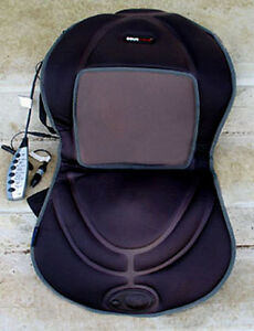 COMFORT MASSAGE CUSHION WITH HEAT FOR YOUR CAR OR YOUR HOME