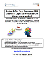 Research Study: Depression & Memory/Attention