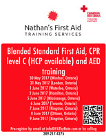 CPR and First Aid Training!