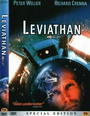 LEVIATHAN (1989) Peter Weller [DVD] FAST SHIPPING