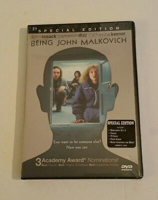 Being John Malkovich  Dvd  2000 Special Edition New Sealed