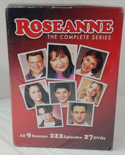 Roseanne The Complete Series DVD, 2013, 27-Disc Set 222 EPISODES NEW/SEALED  - $29.50