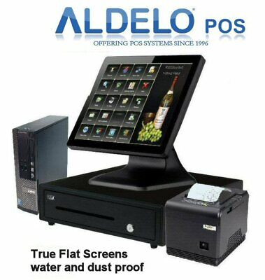Aldelo Pos Pro Completely Configured Aldelo Pos System- 5 Years Warranty
