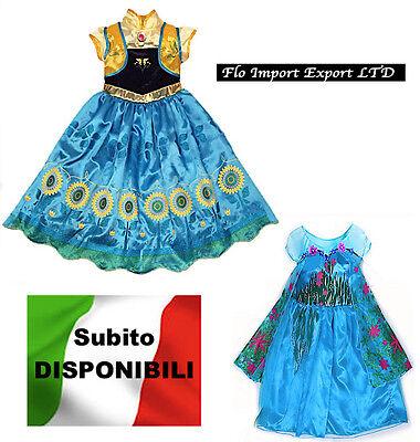 Frozen Fever- Vestiti Carnevale Elsa Anna - Dress up Costumes Fever 789018-19