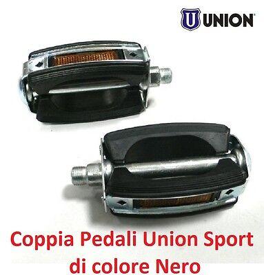 Coppia Pedali XERAMA Alluminio Corona Rosso per Bici 20-24-26 Olanda 0083