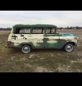 1955 Chevy Suburban Carry all $5350
