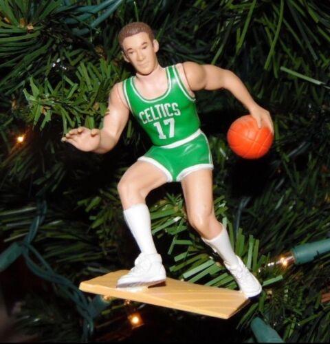 john HAVLICEK boston CELTICS basketball xmas TREE ornament HOLIDAY green JERSEY