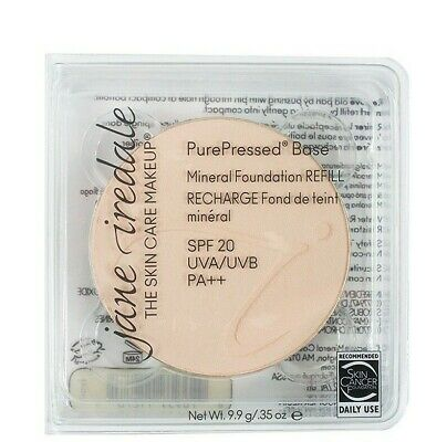 Jane Iredale PurePressed Base Mineral Foundation SPF20 Refill - Suntan-NEW