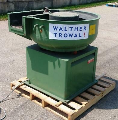 Vibratory Finisher - 3 Cubic Ft. With Separation - Walther Trowal