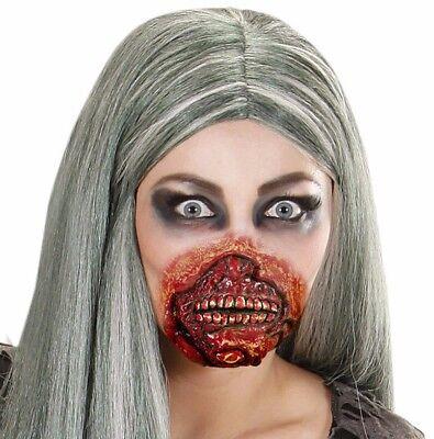 Ausverkauf Zombie Mund Kostüm Zubehör Fx Halloween Blutig Elastisches Und Latex