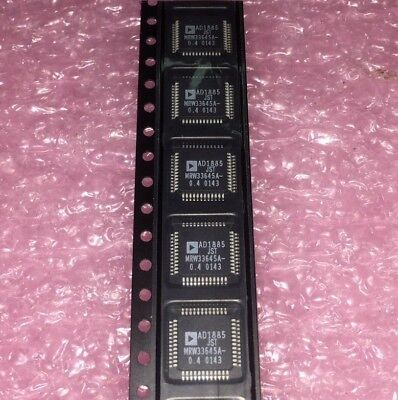 6 Piece Lot Ad1885jst Analog Devices Audio Codec 2adc 2dac 16bit 48-pin Lqfp