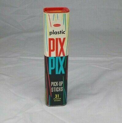 Pix Up Sticks (Vtg 1968 Whitman Pix Pix Pick Up Sticks In Original)