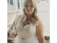 Anna sorrano (celeste) wedding dress size 18