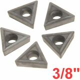 "3/8"" C6 Carbide Insert for Indexable Lathe Toolholder Triangle"