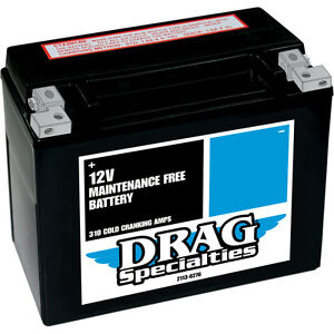 Harley-Davidson Touring Maintenance-Free Battery 1997-2013