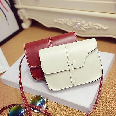 HOT Womens Girls Classic Shoulder Bag Leather Satchel Crossbody Bag Handbag Gift ()