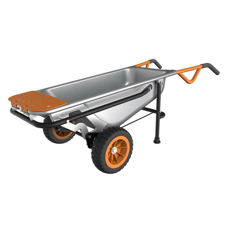 WG050 WORX AeroCart: 8-in-1 Multi-Function WheelBarrow Yard Cart