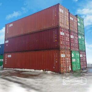 Shipping Containers for Sale or Rent - The Container Guy Saskatchewan Preview