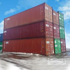 Shipping Containers For Sale or Rent - The Container Guy Saskatoon Saskatchewan Preview