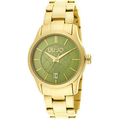 Orologio da donna Liu Jo TESS TLJ939 dorato acciaio oro quadrante verde