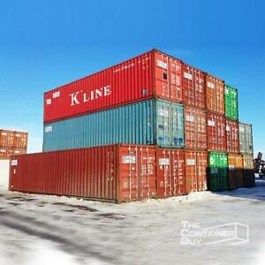 40 Used Shipping Containers - The Container Guy Saskatoon Saskatchewan Preview