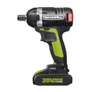Impact à batterie ROCKWELL RK2855K2 20v brushless 159,95$ !!!