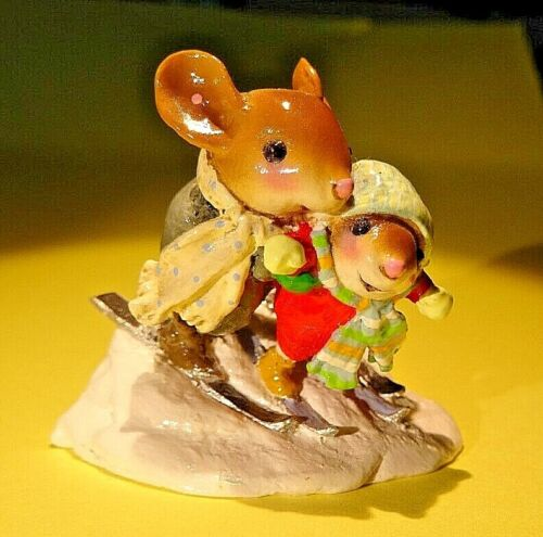 WEE FOREST FOLK MS-28 Bunny Slope Buddies-Retired