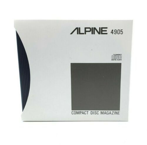 Replacement Alpine 4905 6 CD Disc Changer Cartridge - New OEM