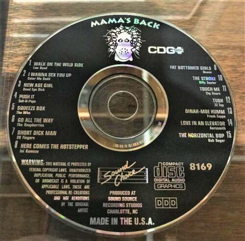 SOUND CHOICE KARAOKE SPOTLIGHT SERIES CD+G - 8169- MAMA