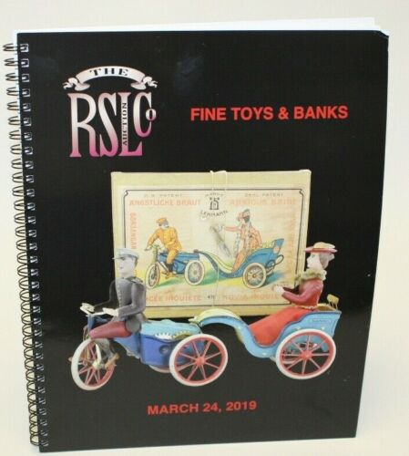 RSL - Fine Toys & Banks Catalogue March 2019