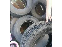 X5 brand new open cross tyres