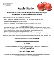 Up to $300 compensation - participants needed for the Apple Stud