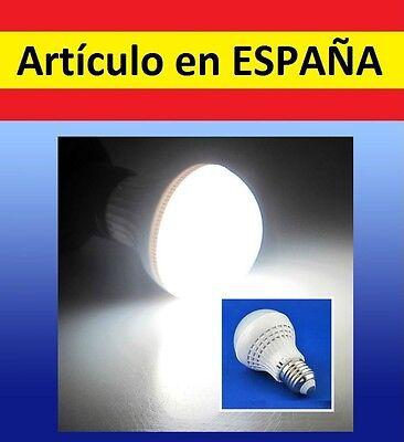 BOMBILLA LED SENSOR DE SONIDO 5W E27 LED 220-240V control W8 movimiento...
