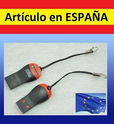 LECTOR DE TARJETAS DE MEMORIA SD a USB TF card T-Flash mini...