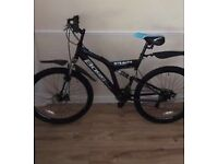Stealth Men's BOSS mountain bike (rrp £190 in Halfords) Used 5 times - good as new